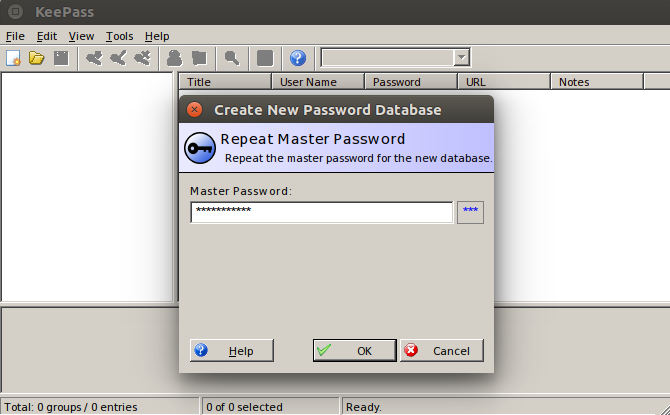KeePass 3rd UI