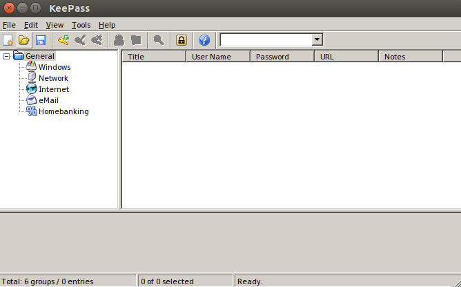 KeePass 4th UI